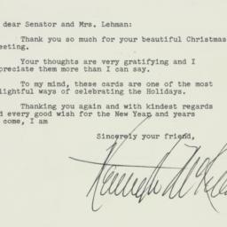 Letter : 1952 January 12