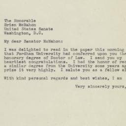 Letter: 1945 June 14