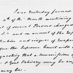 Document, 1796 January 08