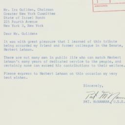 Letter : 1958 October 23