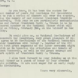 Letter : 1953 December 11