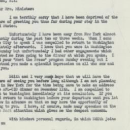 Letter : 1956 December 4