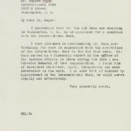 Letter: 1946 September 11