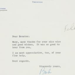 Letter : 1957 November 8