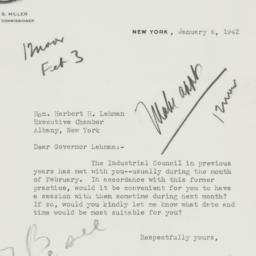 Letter : 1942 January 6