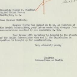 Letter : 1951 March 20