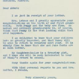 Letter : 1940 May 10