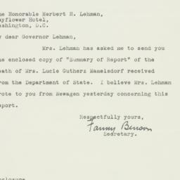 Letter : 1944 August 21