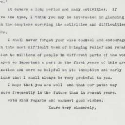 Letter: 1963 April 9