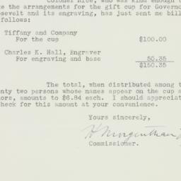 Letter : 1933 January 12