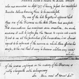 Document, 1798 September 27
