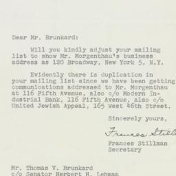 Letter : 1951 May 23