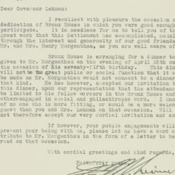 Letter : 1931 April 3