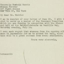 Letter : 1945 June 29