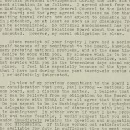 Letter : 1945 August 22