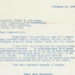 Letter : 1936 February 17