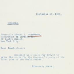 Letter : 1936 September 25