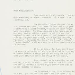 Letter : 1938 June 22