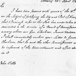 Document, 1798 April 20