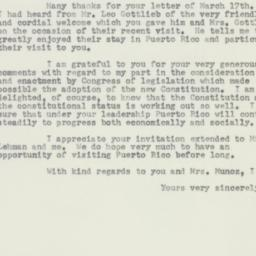 Letter : 1953 March 23