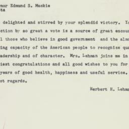 Telegram : 1956 September 11