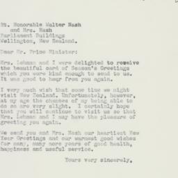 Letter : 1960 December 27