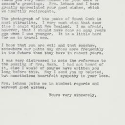Letter : 1962 December 20