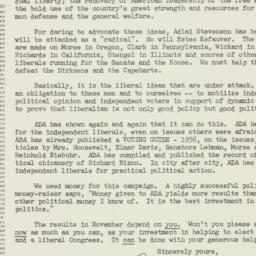 Letter : 1956 October 31