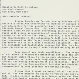 Letter : 1958 May 26