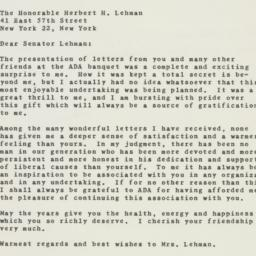 Letter : 1959 May 18