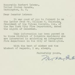 Letter : 1952 January 9