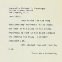 Letter: 1956 February 22