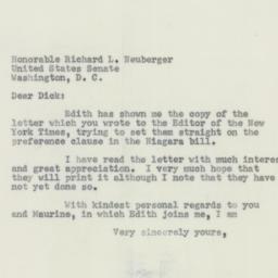 Letter: 1956 June 15