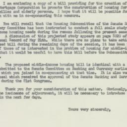 Letter: 1956 July 18