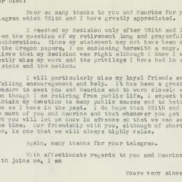 Letter: 1956 August 29
