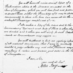 Document, 1798 March 03
