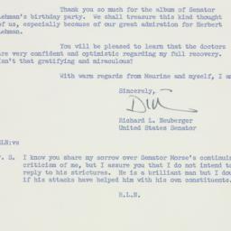 Letter: 1959 January 29