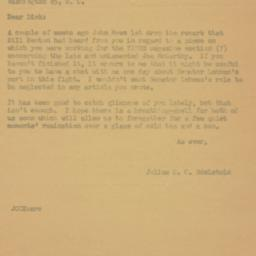 Letter: 1959 May 11
