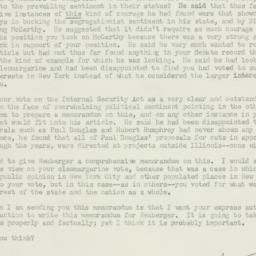 Letter: 1959 May 17