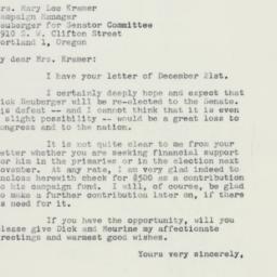 Letter: 1959 December 31