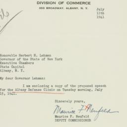 Letter : 1941 July 11