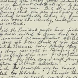 Letter: 1942 November 22