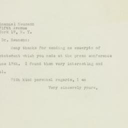 Letter : 1948 June 19