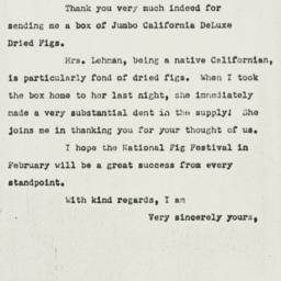 Letter : 1951 January 25