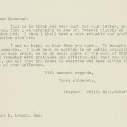 Letter : 1947 November 28