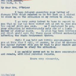 Letter : 1941 January 27