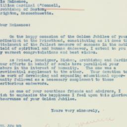 Letter : 1934 November 27
