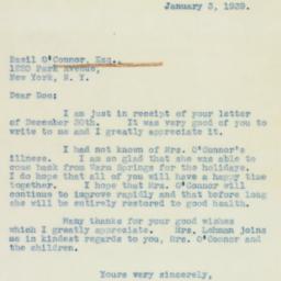 Letter : 1939 January 3