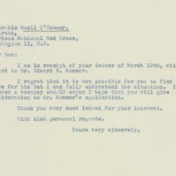 Letter : 1947 March 20