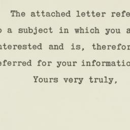 Letter : 1950 June 6